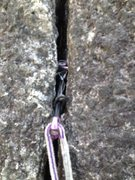 Rock Climbing Photo: Slight bit of cam movement on an internally flarin...