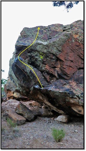 Rock Climbing Photo: Tabula Rasa.