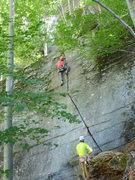 Rock Climbing Photo: Fa la la