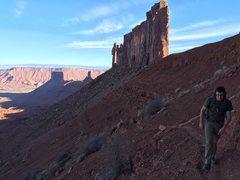 Rock Climbing Photo: The dane boy