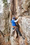 Rock Climbing Photo: Upper portion