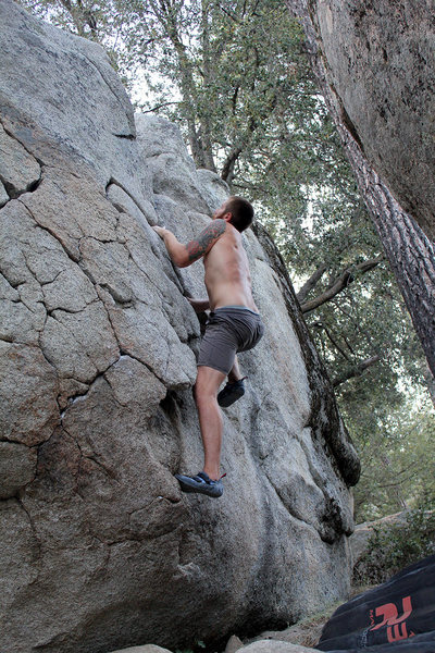The AH Boulder: Problem E