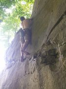 Rock Climbing Photo: Bouldering on this same wall