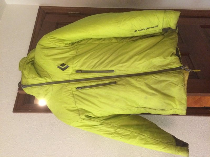 BD Belay stance jacket