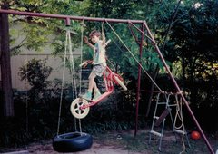 Rock Climbing Photo: ....only the safest gear.... (circa 1989?)
