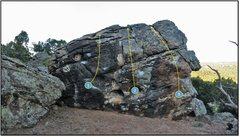 Rock Climbing Photo: 3. Asgard.