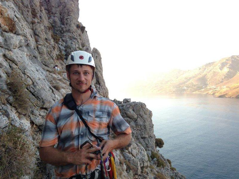 Rock Climbing Photo: Climbing in Kalymnos