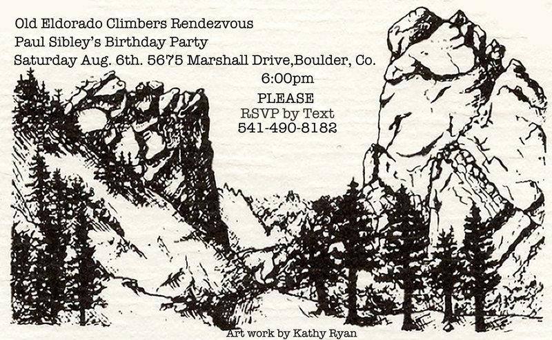 Rock Climbing Photo: Birthday party