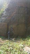 Rock Climbing Photo: Compromises 5.10b