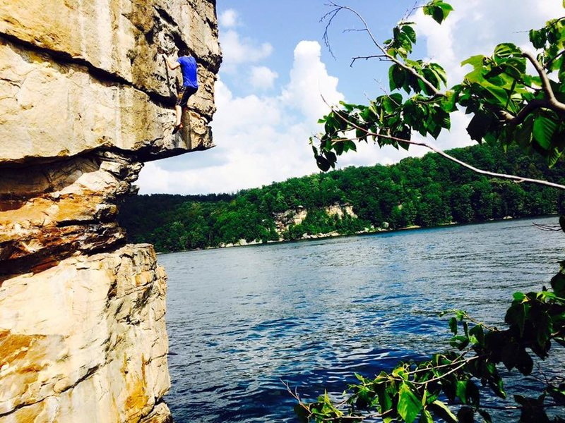 Long Point - Summersville Lake, West Virginia