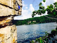 Rock Climbing Photo: Long Point - Summersville Lake, West Virginia
