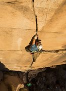 Rock Climbing Photo: Capulin Canyon, NM