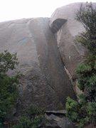 Rock Climbing Photo: do not climb milkbar when it looks like this.