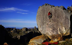 Rock Climbing Photo: Playing in the Fields of the Lord, Font 5b (V1), C...