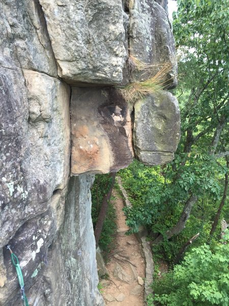 Rock Climbing Photo: Dihedral Gone