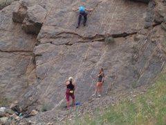Rock Climbing Photo: Choss city
