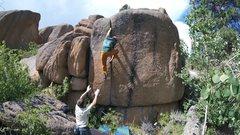 Rock Climbing Photo: Sending the classic ODNT.