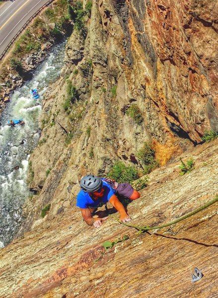 Rock Climbing Photo: Playin Hooky CCC
