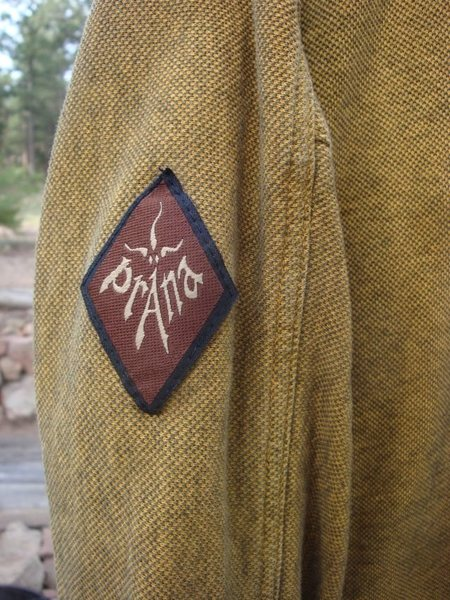 Prana, made in the USA.