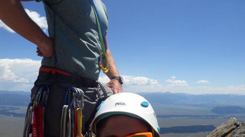 Rock Climbing Photo: selfie gone wrong