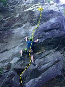 Rock Climbing Photo: Route overview