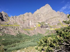 Rock Climbing Photo: Here are some ways to start Ellingwood Ledges. I h...