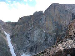 Rock Climbing Photo: Kor's Door to the left just above Lamb's S...
