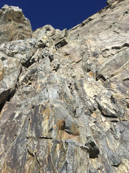 Rock Climbing Photo: Looking at the direct start. Not as hard as .10a i...