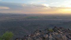 Rock Climbing Photo: Picacho Peak, Arizona; 3,374Ft; 7-25-16; 7:15PM