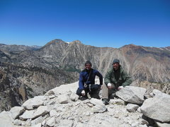 Rock Climbing Photo: Jeff and I on top of the Polish Tower after climbi...