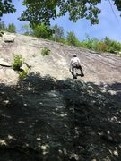 Rock Climbing Photo: RH on Shining Path