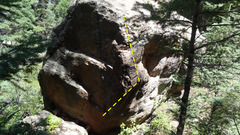 Rock Climbing Photo: Rampart Rebel.