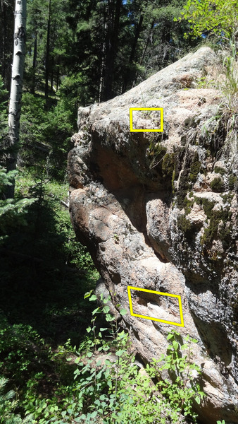 Rock Climbing Photo: Grenade...from here to there. The top will need gr...