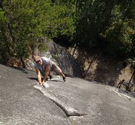 Rock Climbing Photo: Whaz toe-tums?