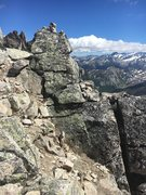 Rock Climbing Photo: If there are too many parties on Northeast ridge a...