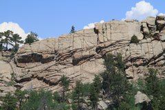 Rock Climbing Photo: whole wall