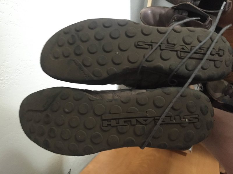 sole of guide tennies