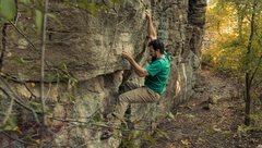 Rock Climbing Photo: Kevin wagoner v fun