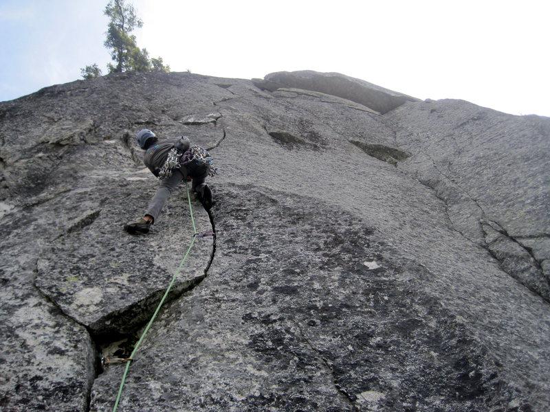 Rock Climbing Photo: Glorious .10c p5