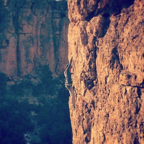 Rock Climbing Photo: Shelf road Photo credit: Will Eaton