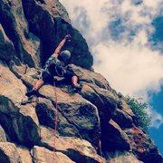 Rock Climbing Photo: Killin' it at Golden Gate Canyon State Park  P...