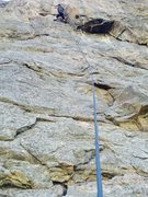 Rock Climbing Photo: At Little Eiger in Clear a Creek Canyon