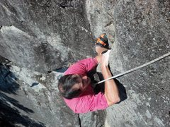 Rock Climbing Photo: The kneebar move on This is Index NOT LA.