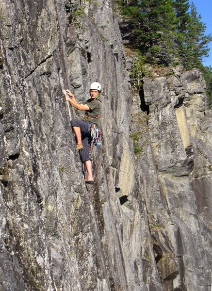 Rock Climbing Photo: Nick on Lovin Arms.