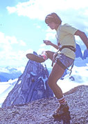 Rock Climbing Photo: Not actually Index. Just an old shot of me hacky-s...