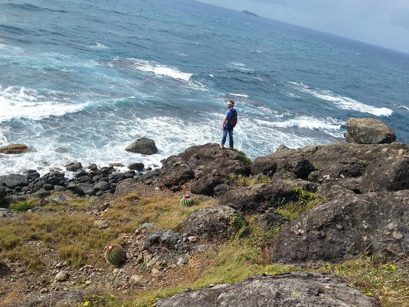 Rock Climbing Photo: Oyster Pond