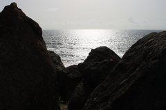 Rock Climbing Photo: Sunset at Oyster...
