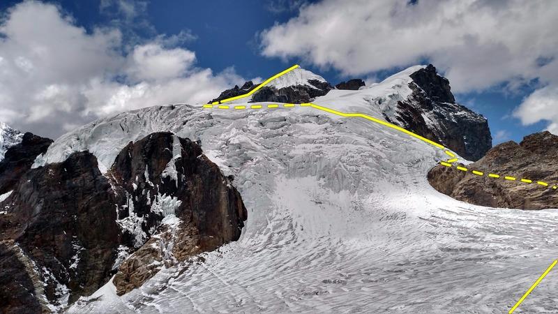 Rock Climbing Photo: Lower approach
