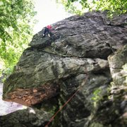 Rock Climbing Photo: Espresso (5.10d) at Rumney