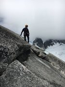 Rock Climbing Photo: bolted anchor on the main summit. Either a double ...
